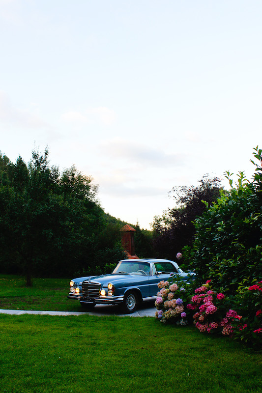 Stella Butz Photography Mercedes Coupe 280se
