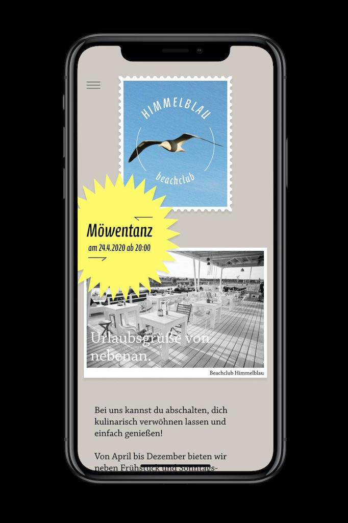 2 Stella Butz Himmelblau Beachclub Webdesign hf